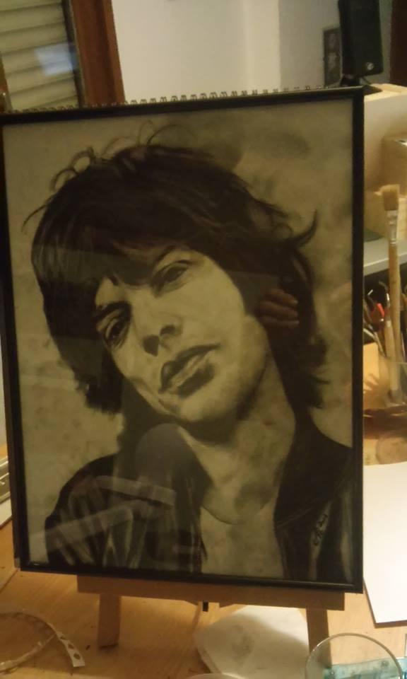 Mick Jagger par KituC